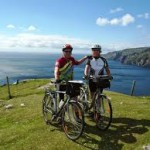 Cycling on the Dingle Peninsula
