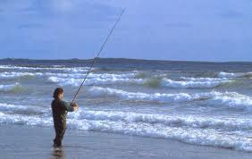 fishing on Inch beach