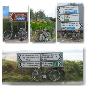 Bicycle Hire, Kerry coastline, Dingle Peninsula.